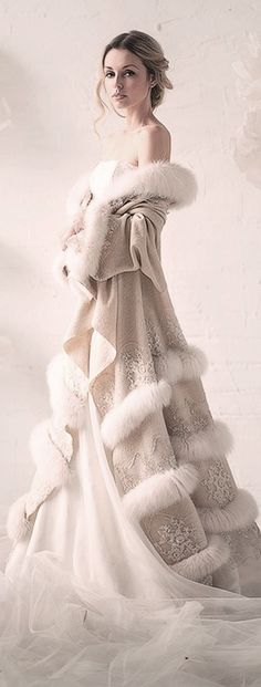 Gorgeous coat! Snow queen