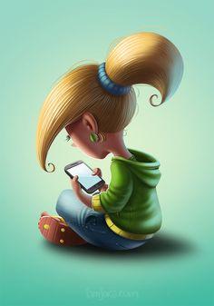 Cartoon Kiddo #character #kid #cartoon