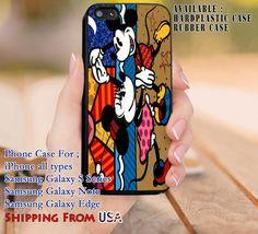Cute Couple Art iPhone 6s 6 6s  5c 5s Cases Samsung Galaxy s5 s6 Edge  NOTE 5 4 3 #cartoon #animated #disney #MickeyMouse dl8