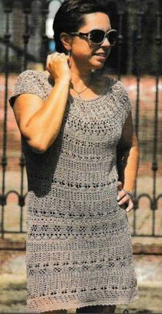 топ блуза и платье летнее крючком часть 1 Top Blouse And Summer