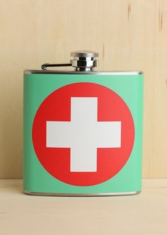 @Evelyn Bookwalter First Aid Flask. For John!!