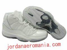 Nike air jordan 11 -Blanc/Gris