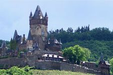 Dream vacation in Germany - Cochem Castle on the Mosel River