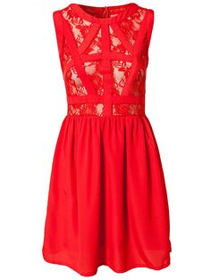 Iman Dress - Mimi Blix For Nelly - Red - Party Dresses - Clothing - Women - Nelly.com Uk