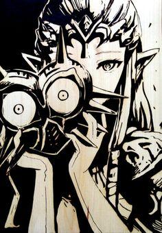 Zelda and Major'a Mask, thats something diffrent, but i like it :) The Legend Of Zelda, Legend Of Zelda Breath, Legend Of Zelda Tattoos, Zelda Twilight Princess, Anime Wolf, Anime Outfits, Majora Mask, Zelda Drawing, Legend Drawing