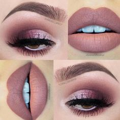 Best and wonderful eye makeup tips - make up Makeup Eye Looks, Eye Makeup Tips, Cute Makeup, Makeup Goals, Gorgeous Makeup, Makeup Inspo, Eyeshadow Makeup, Hair Makeup, Makeup Ideas