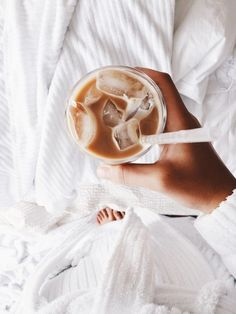 Iced Coffee In Bed F