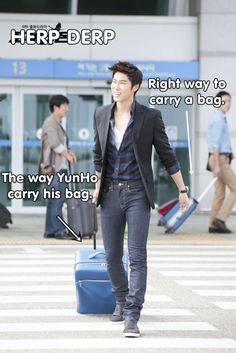 And Yunho still looks good when he's supposed to look stupid DBSK TVXQ Tohoshinki JYJ Jung U-know Yunho Park Micky Yoochun Kim Hero Jaejoong Shim Max Changmin Kim Xiah Junsu Korean Music, Korean Drama, Sung Joon, Cute Asian Guys, Jung Yunho, You're Hot, Korean Star, Korean Men, Gangnam Style