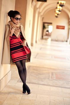 From blog entry: http://www.wendyslookbook.com/2012/03/scarlet-red-stripes-eyelash-sunnies/