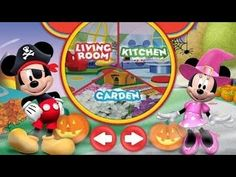 Mickey Mouse Clubhouse Color And Play Halloween Theme