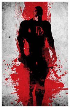 Minimalist Daredevil Poster