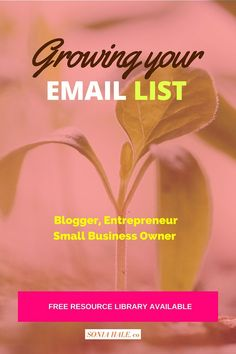 CLICK THRU FOR GREAT IDEAS>>>>Downloadables and List Building: Growing your Email List, How to Build an Email List