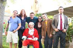 The entire cast of Episode 2: Adam Richmond, Loa Allebach,  Danny McDermott, Jeff Richards, Meli Alexander, Doug Presley and Justin Wade.
