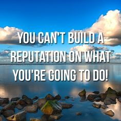 Stop waiting for a reason to take action!