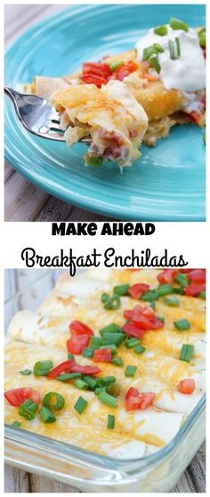 Make Ahead Breakfast Enchiladas #ad /starbucks/ #makeitmerrier #coffee
