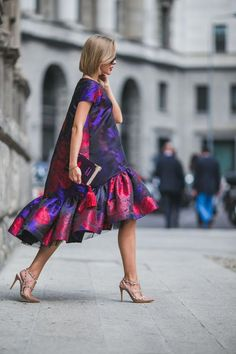 Тенденции-2017. В моде платья с воланами (фото) - Домашний очаг