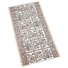 Runner Area Rug Wide, Sold By Foot Beige Silk Blend For Living Room Traditional Style Carpet Runner, Stair Runner Carpet, Silk Carpet, Rugs, Beige, Area Rugs, Carpet, Things To Sell, Cabinet And Door Hardware