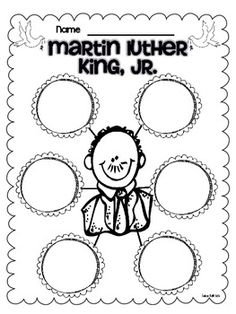 Martin Luther King Jr Freebies |Pinned from PinTo for iPad|
