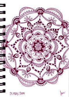 Mandala in Wine by SpringChick, via Flickr