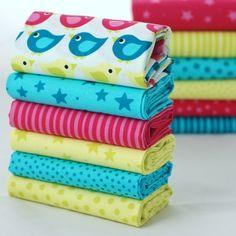 Quilt Cotton Fabric Scandinavian Chic Semicircle Abstract Fat Quarter Half Meter