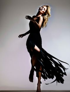 I love the SPLICED-SKIRT MAXI DRESS from the Kate Moss for Topshop collection at Nordstrom.
