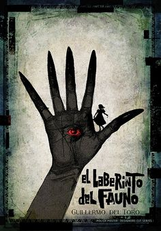 Pan's Labyrinth, Polish Poster by Ryszard Kaja