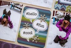 Pysseldags: #Winter PL-sida av DT- Hegu http://blog.pysseldags.com/2015/01/winter.html