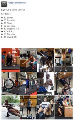 #CrossFitGrenoble #CrossFitVoiron #CrossFit #Wod