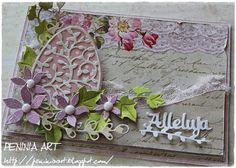 Peninia Art...: Kartka wielkanocna Diy And Crafts, Paper Crafts, Easter Greeting Cards, Easter 2021, Easter Art, Cardmaking, Scrapbooking, Blog, Handmade