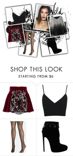 """Wild"" by sofiadelouya ❤ liked on Polyvore featuring Ezgi Cinar, Miss Selfridge, Avenue, Alaïa and Chicwish"