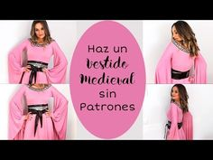 Haz Un Vestido Medieval Sin Patronaje. Fácil 🛡⚔ - YouTube