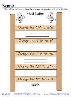 word work or writing station Kindergarten Reading, Teaching Reading, Reading Tips, Early Reading, Kids Reading, Reading Skills, Learning, The Words, Word Study Activities