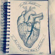#loveinthetimeofCholera #quote #heart #doors #sketch #doodle #illustration