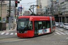 Tram in Takaoka.