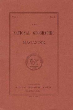 National Geographic - First issue, 1888.