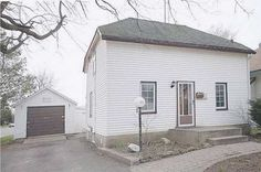 Starter or Investment Home Great investment for a full detached home with private fenced yard and double garage + mancave! Eat-in kitchen, living room, family room and laundry on main floor. 2nd level boasts 2 bedrooms and full bath. In Town and close to all amenities, shopping, recreation, hospital and more.