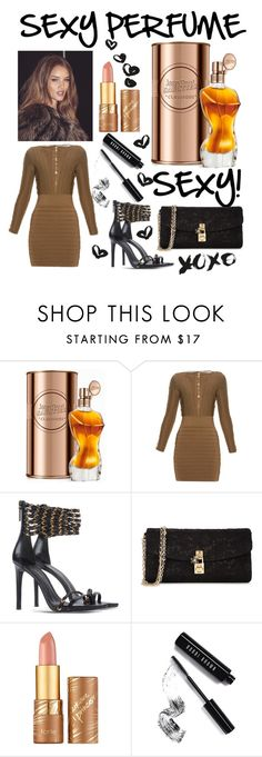 """SEXY Perfume!"" by mandimwpink ❤ liked on Polyvore featuring beauty, Jean-Paul Gaultier, Balmain, Pierre Balmain, Dolce&Gabbana, tarte, Bobbi Brown Cosmetics and sexyperfume"