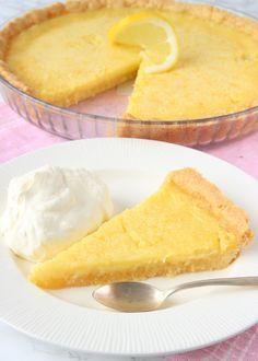 Pie Recipes, Baking Recipes, Swedish Recipes, Fudge Brownies, Fika, No Bake Cake, Cornbread, Deserts, Food And Drink