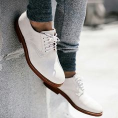 New off whit oxfords ...Fresh and clean