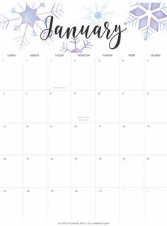 January 2019 Desk Calendar #Printable #Template #Planner #