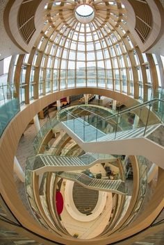 Public welcomes Liverpool's £50m library - Place North West  What a set of staircases!