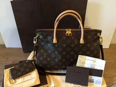 Louis Vuitton Pallas Satchel in Monogram Making Room for some new LV bags :)