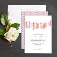 Charmed Garland Wedding Invitations by Elli