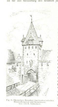 Image taken from page 110 of 'Strassburg und seine Bauten. Herausgegeben vom Architekten- und Ingenieur-Verein für Elsass-Lothringen. Mit 655 Abbildungen in Text, etc' | by The British Library