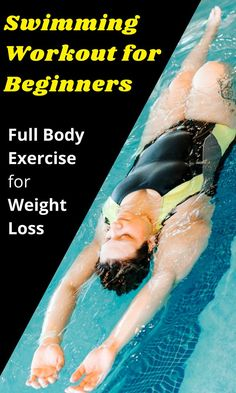 Swimming Workout for Beginners is one of the best full body exercises you can perform. One of our favorite benefits of using a Swimming Workout is being able to go to the pool. Swimming Workout For Fat Burning has more benefits than just weight loss. Best Swimming Workouts, Swimming Workouts For Beginners, Swimming Pool Exercises, Swimming Drills, Pool Workout, Aerobics Workout, Beginner Swim Workouts, Swimming Practice, Vacation Workout
