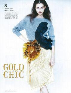 Antonina Vasylchenko for Madame Figaro Japan March 2014