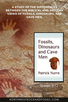 Fossils, Dinosaurs and Cave Men is a study of the differences between the Biblical and secular views of fossils, dinosaurs, and cave men. Our 30 signature fossil specimens complete this kit.  Each is individually bagged and labeled. What are you waiting for? Order it today! #christianhomeschooling #geology #fossils #dinosaurs #biblicalworldview #homeschoolscience #highschoolscience Bible Science, Earth Science, Science And Nature, Homeschool Science Curriculum, Living Fossil, Tower Of Babel, Dinosaur Bones, High School Science, Learn To Read