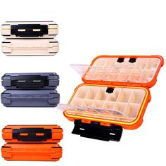 High Quality Fishing Tackle Box 24 Compartments 3 Color Fish Lure Line Fishing Tackle Fishing Accessories Box - Fishing Equipments Fishing Tackle Box, Fishing Tips, Facts About Fish, Fishing Accessories, Super Sport, Sports Equipment, Color, Box Wine, Free Shipping