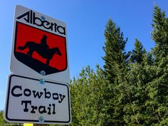 Alberta is a great Canadian province for a road trip and the Cowboy Trail is the best! Most people head from Calgary to Banff, but Southern Alberta is where it's at.