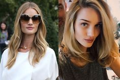Rosie Huntington-Whiteley has ditched the long-haired, bombshell thing in favor of an on-trend, totally voluminous shoulder-length cut—and naturally, she looks impeccable. If THIS doesn't inspire you to go shorter in 2015, we're not sure what will...   - ELLE.com